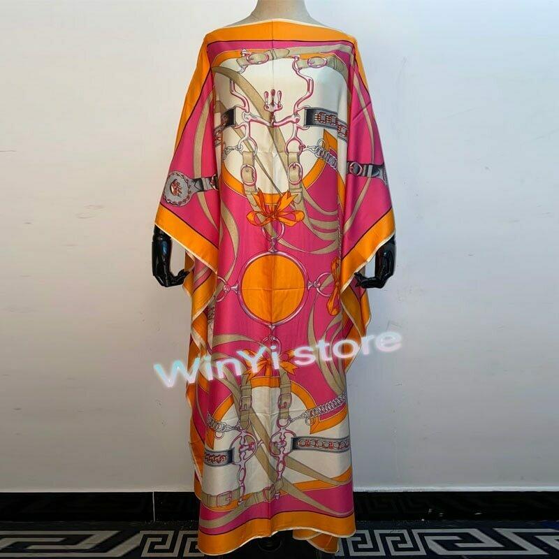 Dresses For Women 2020 Fashion Design Loose Dress Batwing Maxi Long Femme Vestidos Summer Autumn Party Elegant Dress