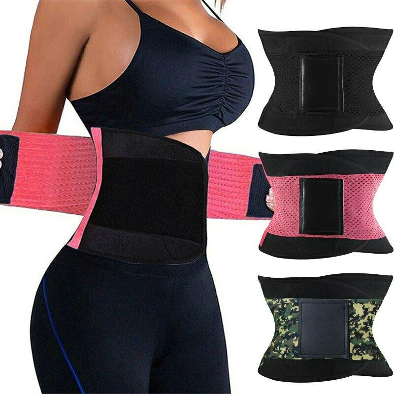 Burvogue Shaper Women Body Shaper Slimming Shaper Belt Girdles Firm Control Waist Trainer Cincher Plus size S-3XL Shapewear