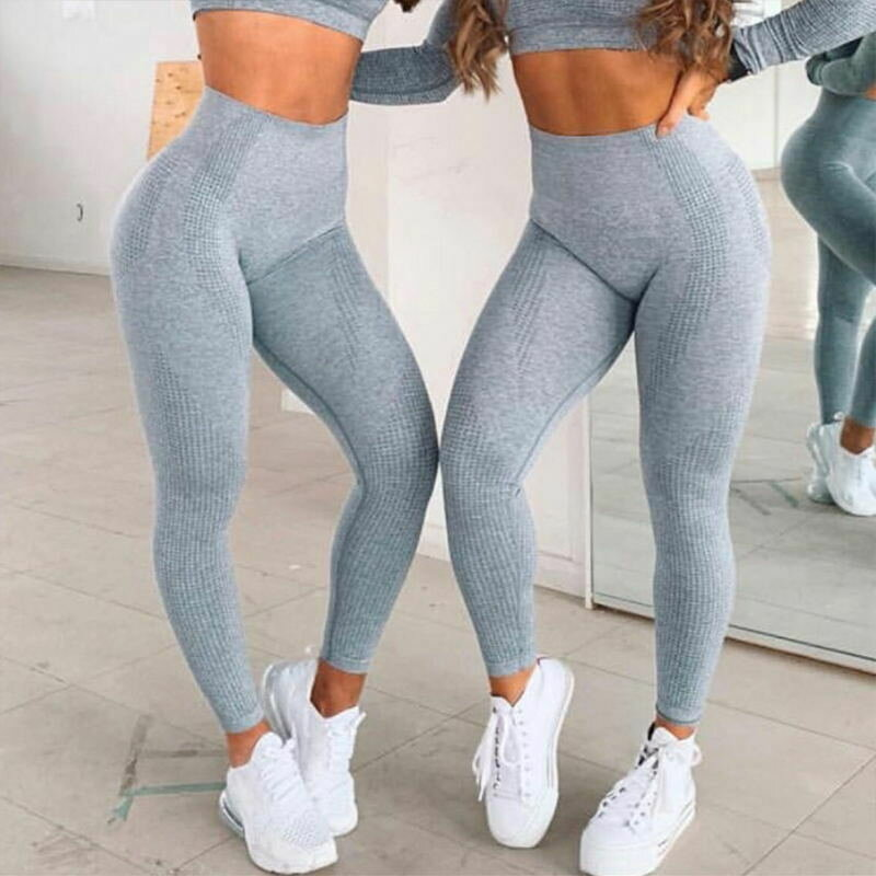 Rooftrellen 10%Spandex Seamless Leggings Women Fitness Leggings For Women Jeggings Sportswear Femme High Waist Exercise Leggings