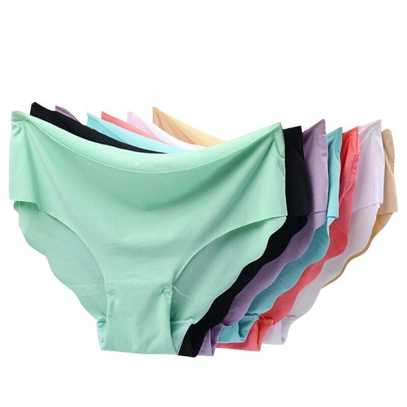 Seamless Panties for Women Sexy Lingerie Women's Underwear Invisible Briefs Set Soft Pants Cotton Underpants 3pcs/lot