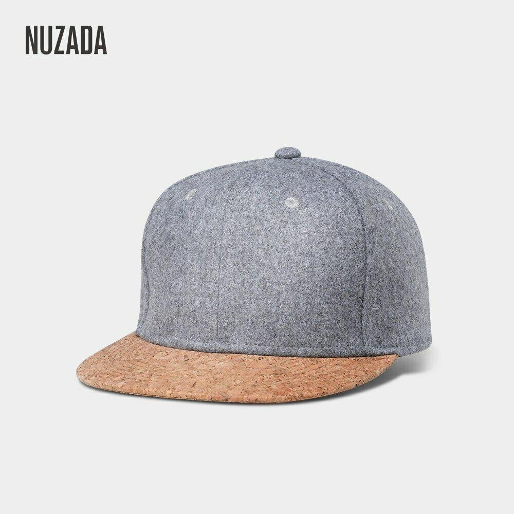 Brands NUZADA Autumn Cork Fashion Simple Men Women Hat Hats Baseball Cap Snapback Simple Classic Caps Winter Warm Hat