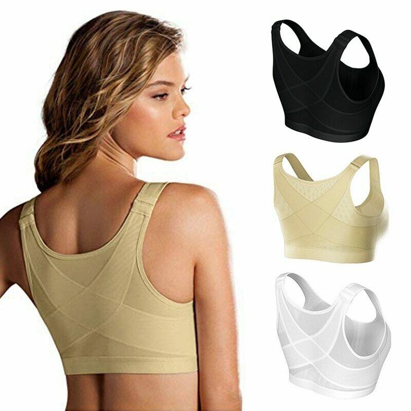 Posture Corrector Lift Up Bra Women New Cross Back Bra Breathable Underwear Shockproof Sports Support Fitness Vest Bras