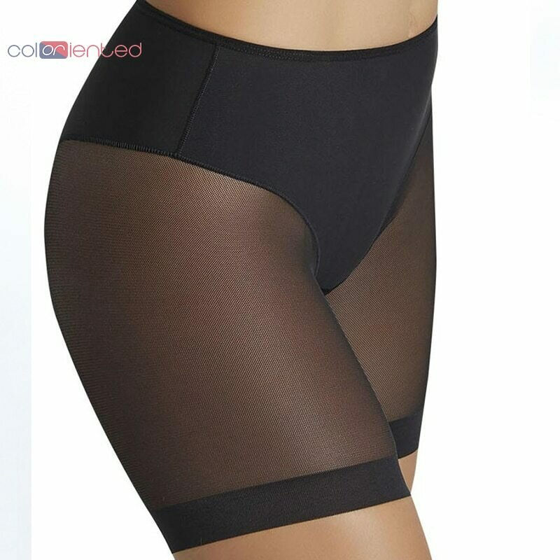COLORIENTED 2019New Great Panties for Sexy Ladies High Stretch Seamfree Women's Underpants Net Cloth Splicing Mesh Body Shaping