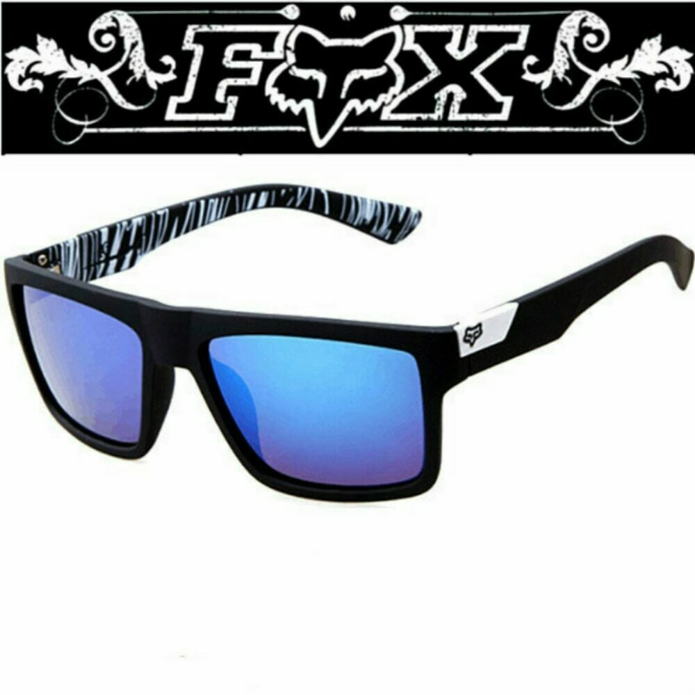 7983 Fox Classic Sunglasses Men Women Driving Square Frame Sun Glasses Male Goggles Sports UV400 Gafas Eyewear