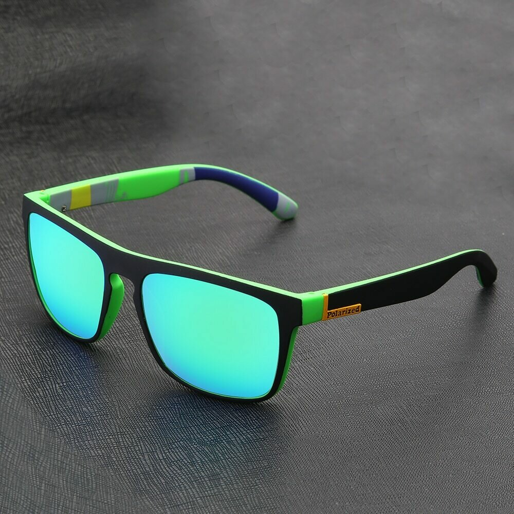 Brand Design Classic Polarized Sunglasses Men Square Coating Driving Sun Glasses Male UV400 Sunglass Shades Eyewear gafas de sol