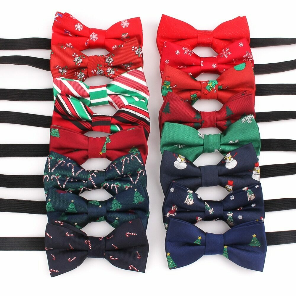 Kids Bow tie Casual Shirts Bow tie For Boys Girls Bow knot Cartoon Christmas Bow Ties Cravats Party Bow ties Children Gifts