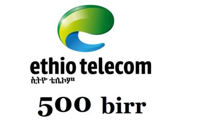 Ethiopian Mobile Phone Airtime Birr Mobile top up