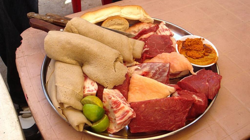 ጥሬ ስጋ Raw Meat (Ethiopia Only)