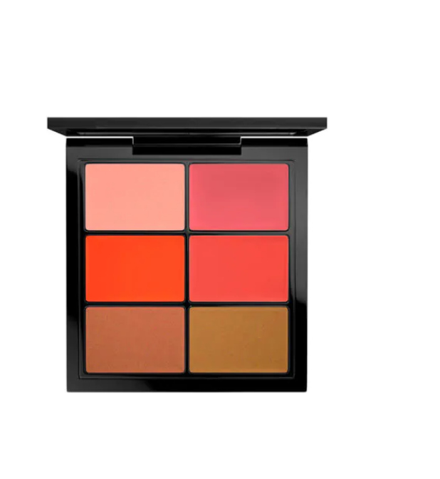 MAC PRO LIP PALETTE / 6 EDITORIAL ORANGES