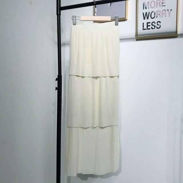 Abaya Turkey Muslim Skirt Women Bottoms Islamic Skirts Ropa Turca