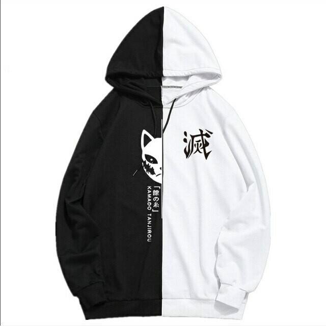 Japanese Anime Demon Slayer Sportswear Hoodies Tanjiro Sweatshirt