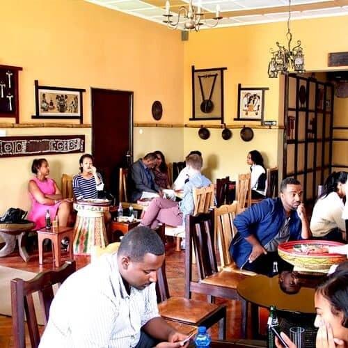 Dashen Traditional Ethiopian Restaurant (ዳሽን ባህላዊ ሬስቶራንት)