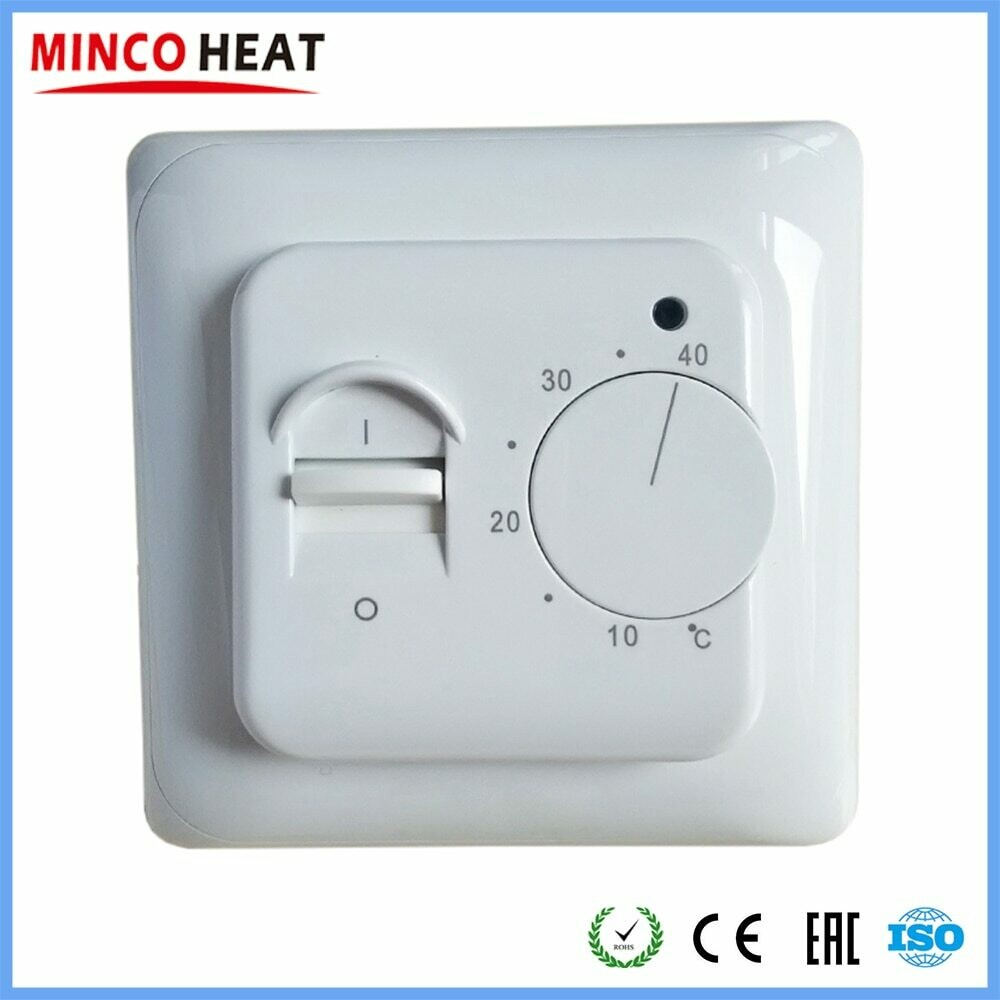 Electric Floor Heating Room Thermostat Manual Warm Floor Cable Use