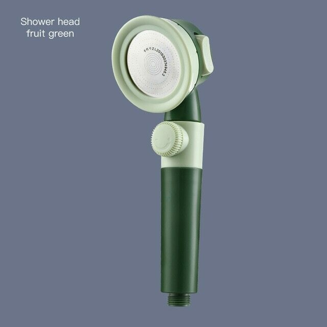 Pressurized Shower Head High Pressure Water Saving Perforated Free