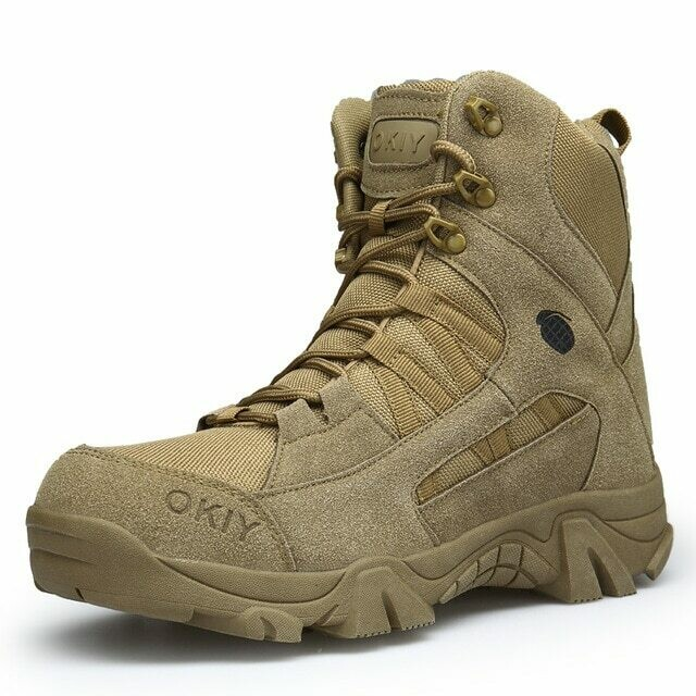 New Autumn Winter Military Boots Outdoor Male Hiking Boots Men Special