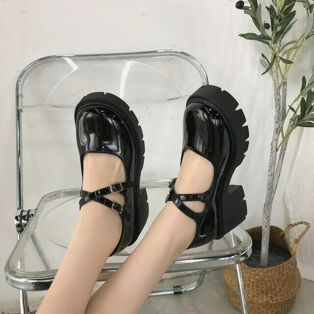 shoes lolita shoes women Japanese Style Mary Jane Shoes Women Vintage