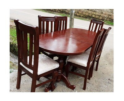 Table And 6 Chair (ጠረንቤዛ እና 6 ወንበር)