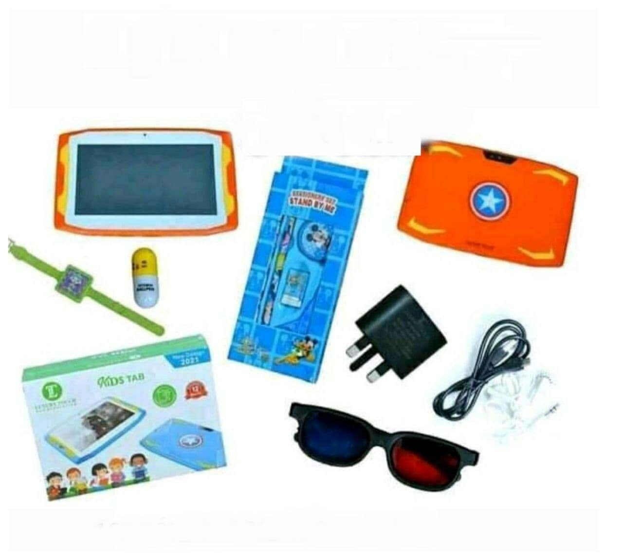 2021 New Design Luxury Touch Kids Tablet