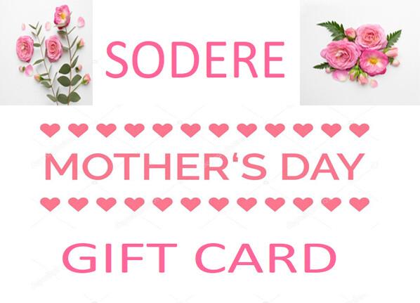 ሶደሬ የእናቶች ቀን ጊፍት ካርድ 4 Sodere Mothers Day Gift Card 4