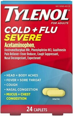 ታይለንኦልኮልድ TYLENOLCold + Flu Severe