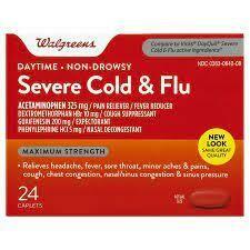 ሰቨር ኮልድ እና ፍሉ Severe Cold & Flu