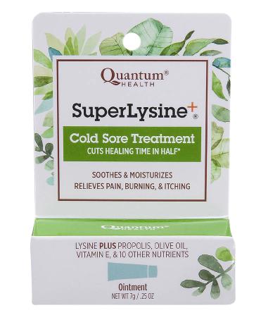 Super Lysine Cold Sore Treatment ሱፐር ላይሲን