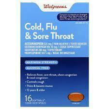Cold, Flu & Sore Throat