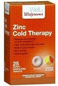 ዚንክ ቀዝቃዛ ሕክምና Zinc Cold Therapy