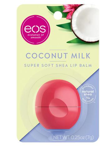 Super Soft Shea Lip Balm Sphere Coconut Milk