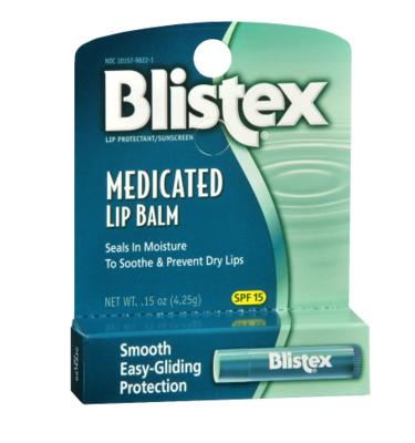 Medicated Lip Balm, SPF 15 Original የከንፈር ቅባት