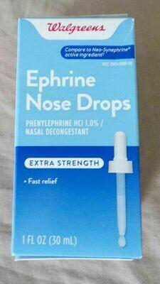 Ephrine Nose Drops ኤፍሪን ኖይዝ ድሮፕስ