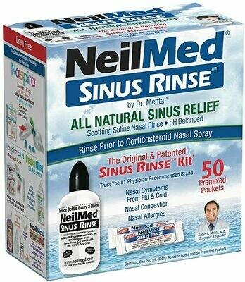 NeilMed Sinus Rinse ኒልሜድ ሳይን