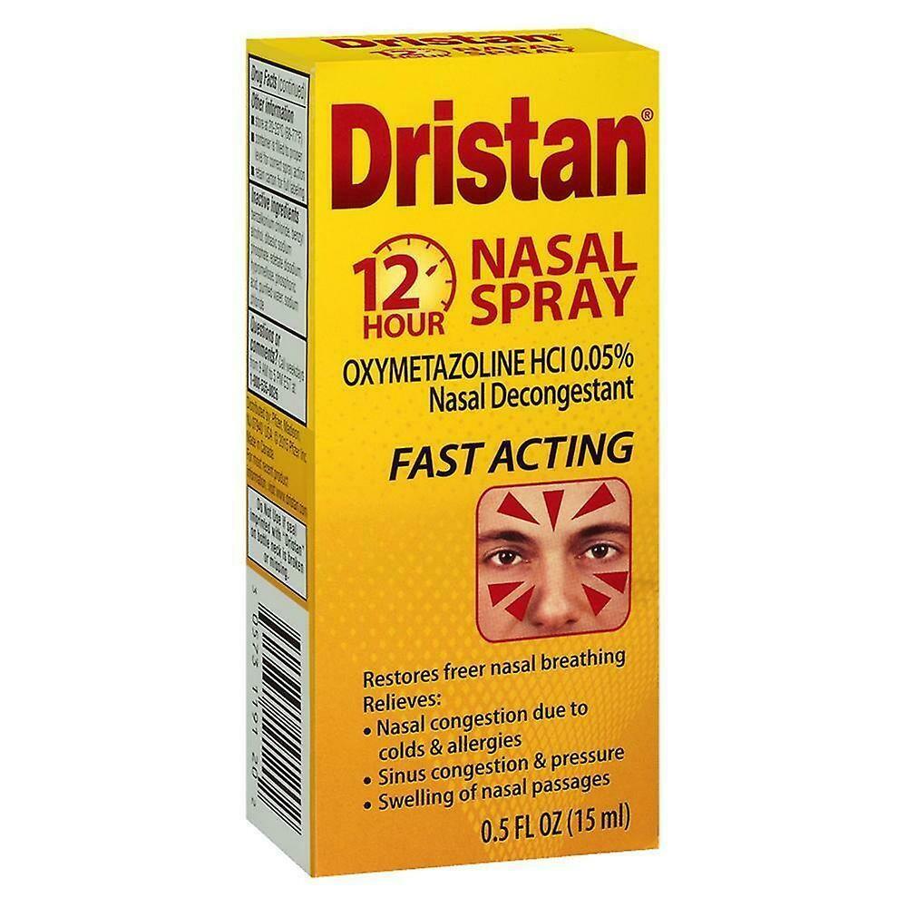 Dristan12-Hour Nasal Spray ድሪስታን 12 ሃወር ናሳል ስፕሬ