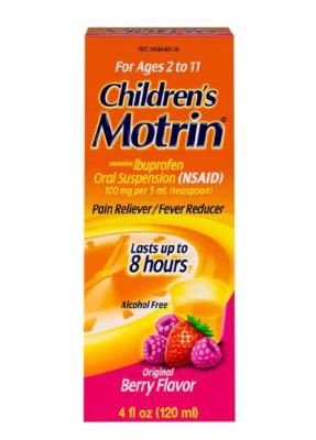 Children's Motrin ችልድረን ሞቲን
