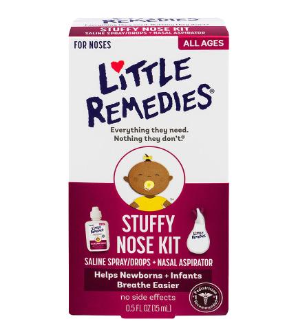 LITTLE REMEDLES Stuffy Nose Kit ሊትል ሪሜድስ