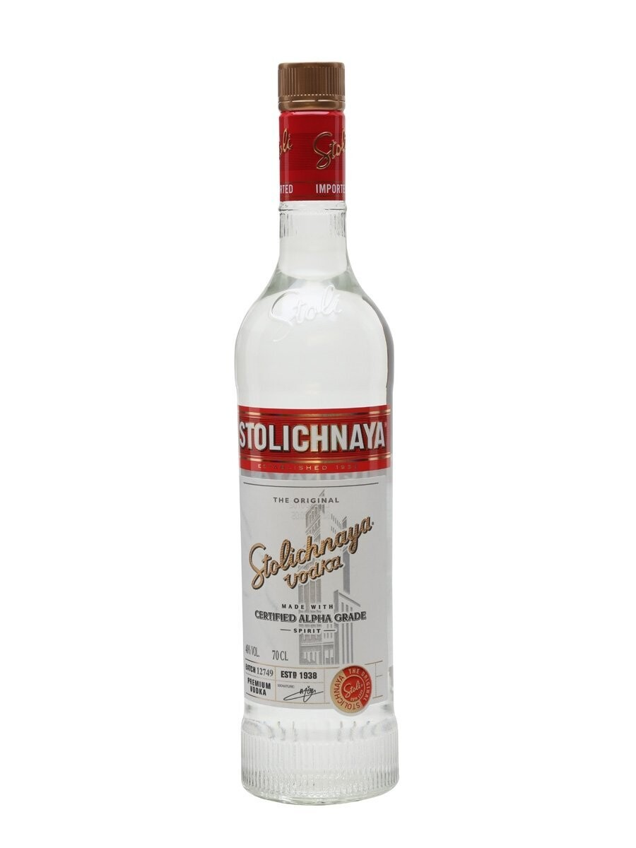 Stolichanya Red Label