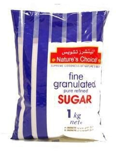 Nature's Choice Fine Granulated Suger ኔቸርስ ቾስዝ የተፈጨ ስኳር