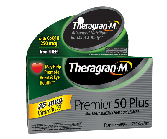 Theragran-M Multivitamin 50 Plus ቴራግራን-ኤም መልቲቫይታሚን 50 ፕላስ
