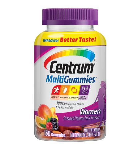 Centrum Women MultiGummies Multivitamin & Multimineral Supplement