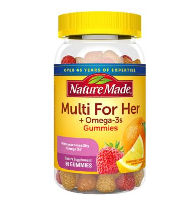 Nature Made Women's Multivitamin + Omega-3 ኔቸር ሜድ ዉመንስ መልቲቫይታሚን + ኦሜጋ 3