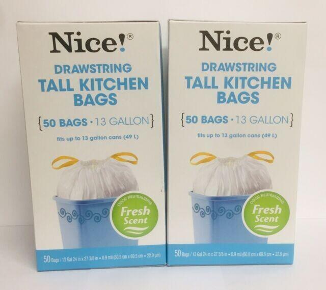 Drawstring Tall Kitchen Bags