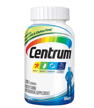 Centrum ሴንትረም (Men, Complete Multivitamin & Multi-mineral Supplement Tablet)
