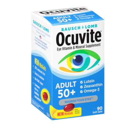 Ocuvite ኦኪቫይት (Eye Health Adult 50+)