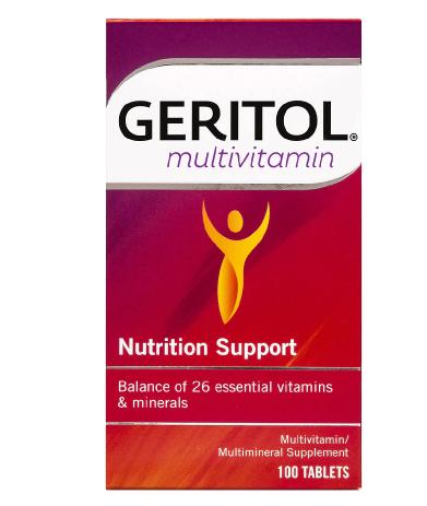 Geritol ገሪቶል (Multivitamin Nutrition Support Tablets)