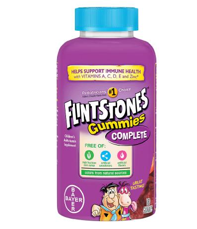Flintstones ፍሊንትስቶንስ Children's Complete Multivitamin Gummies