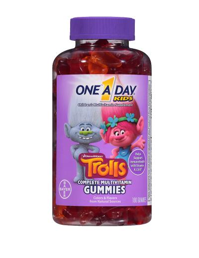 One A Day Kids ዋን ኤ ደይ ኪድስ (Trolls Gummies)