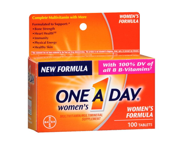 One A Day  ዋን ኤ ደይ ( Women's Multivitamin/Multimineral Supplement Tablets )