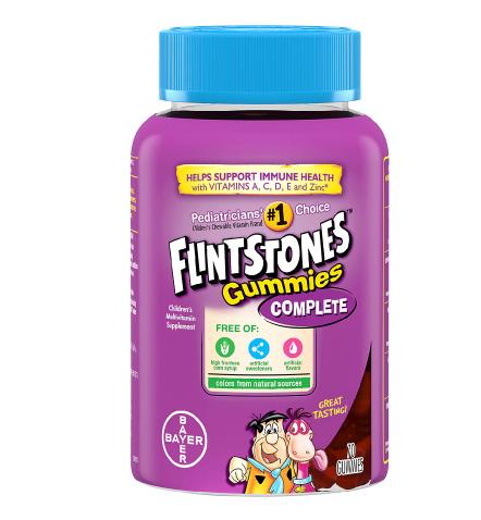 Flintstones ፍሊንትስቶንስ (Children's Complete Multivitamin Gummies)