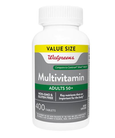 Multivitamin Adult 50+ መልቲቫይታሚን አደልት 50+