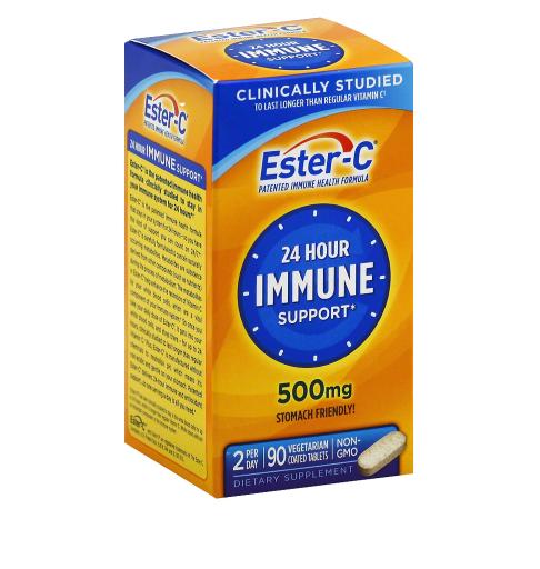 Ester C ኤስተር ሲ ( 500 mg Vitamin C Vitamin Supplement Coated Tablets)